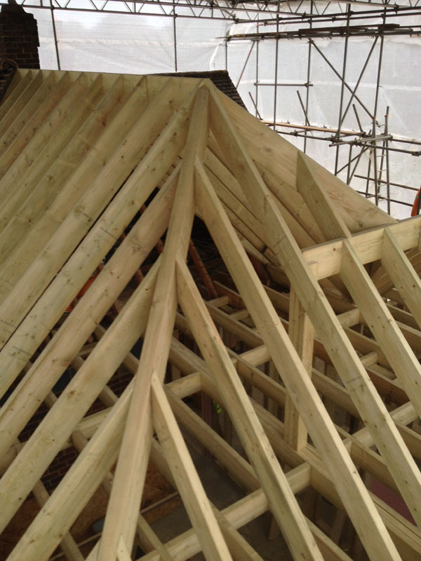 Hip Roof Construction Surrey and London
