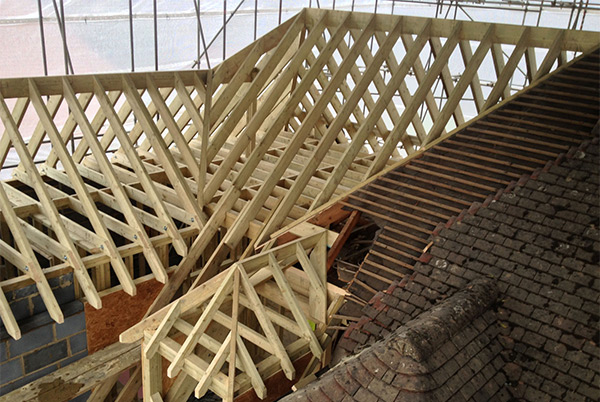 Cut and Pitched Roofs Surrey