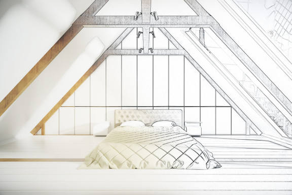 Loft conversions concept and planning image